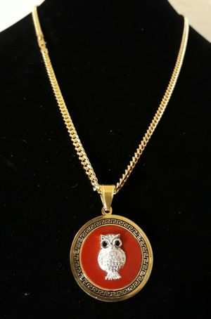 🚚💨I deliver🚀I Ship...😍😍💎14k Gold plated 💦3mm Necklace and charm🌟🌟🌟🌟🌟 for Sale in Fort Lauderdale, FL