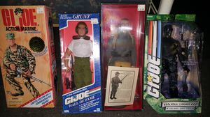 "Gi Joe 12"" figures. Salinas Toy Show for Sale in US"