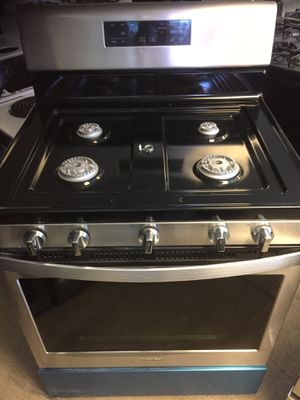 "San Carlos Appliances . Sale & services. New ( open box)30"" gas stove, stainless, , seal burners, electronic ignition for Sale in San Jose, CA"