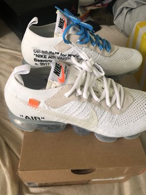 Nike Off White Vapormax White size 8.5 for Sale in Chicago, IL