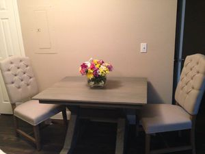 Weathered grey table for Sale in Fairview, TX