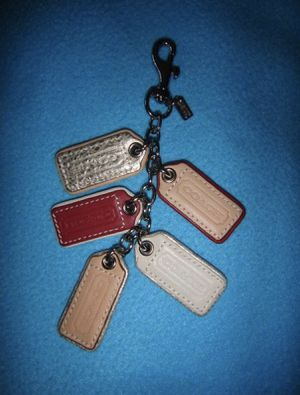 AUTHENTIC COACH PURSE CHARM/KEYCHAIN for Sale in Modesto, CA