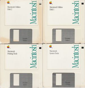 Macintosh Tools & Utilities Ver. 6.0.5 ~ 1990 Software 4 disk set for Sale in Stockton, CA
