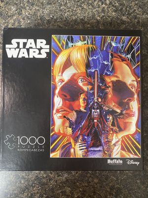 Star Wars 1,000 Piece Puzzle for Sale in Tampa, FL
