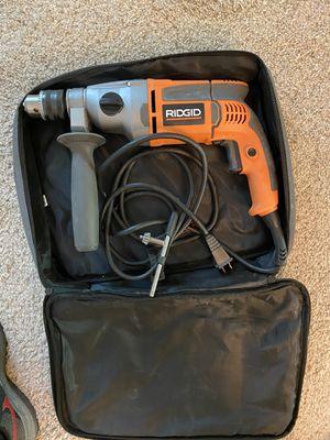 Ridgid hammer drill for Sale in Reston, VA