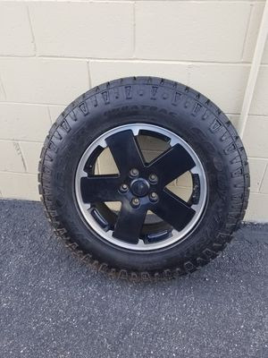Jeep full size spare tire with rim for Sale in Tucson, AZ