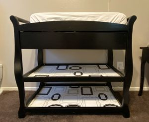 Black Changing table for Sale in San Jacinto, CA