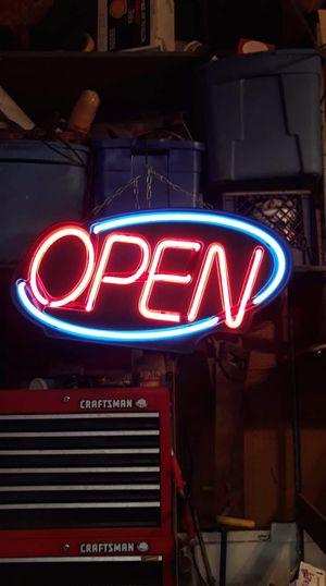 Neon Open Sign for Sale in Pekin, IL