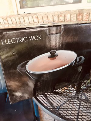 Electric wok for Sale in Albuquerque, NM