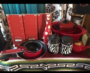 Red cookware for Sale in El Mirage, AZ