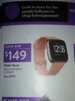 Black Fitbit versa brand new for Sale in Nashville, TN