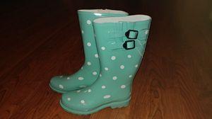 New polka dot rain boots 7.5 / 8 for Sale in Smyrna, TN