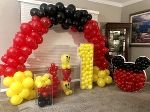 Mickey Mouse balloon set up $1 for Sale in Gaithersburg, MD