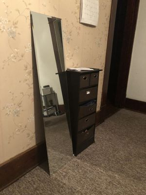 Mirrors, Night table, shelves for Sale in Erie, PA