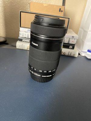 Canon 55-250mm for Sale in Tempe, AZ