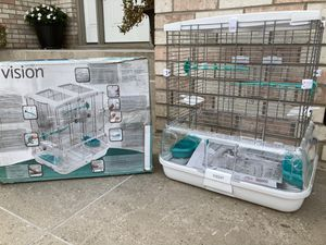 Bird cage (cracked base but repaired ) for Sale in Downers Grove, IL