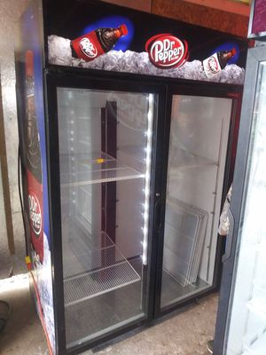 Habco two-door dr. Pepper cooler for Sale in Dallas, TX