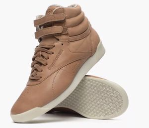 Brand New Reebok Horween High Top Sneakers -Tan Leather Size 6.5 for Sale in New York, NY