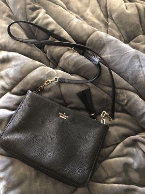 Black Kate Spade cross bag for Sale in Riverside, CA