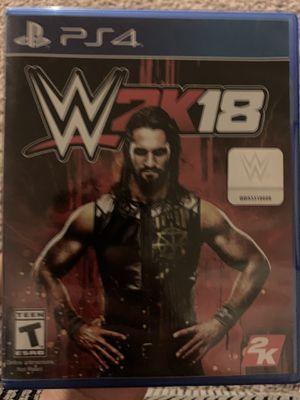 WWE 2K18 PS4 for Sale in Wenatchee, WA
