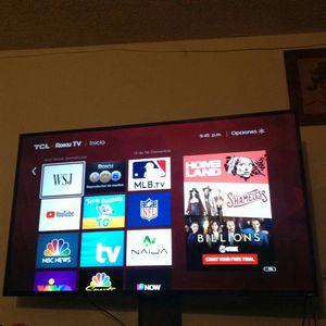 "Smart tv Roku Tcl 65"" for Sale in El Cajon, CA"