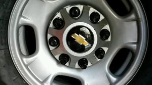 2011(up) GM 8 Lug Takeoffs. Offer-Me-Up = Wheels/245-75-17's for Sale in Greensboro, NC