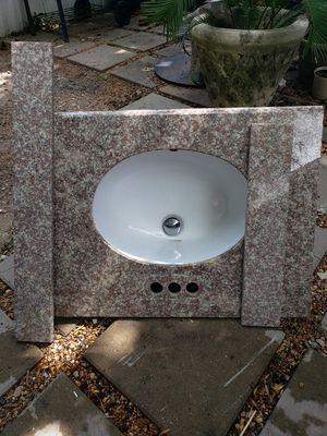 Granite vanity 32w, 23L for Sale in Katy, TX
