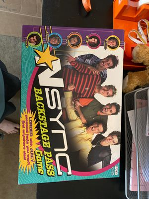 *NSYNC Backstage Pass game for Sale in Las Vegas, NV
