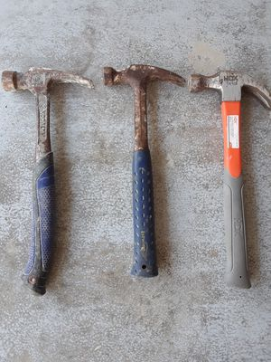 Three hammers for Sale in Jupiter, FL