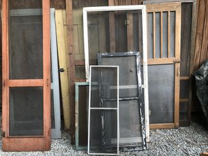 Antique primitive screen doors all sizes all different prices for Sale in Villa Rica, GA