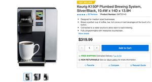Keurig K150P Coffee Maker for Sale in Boston, MA
