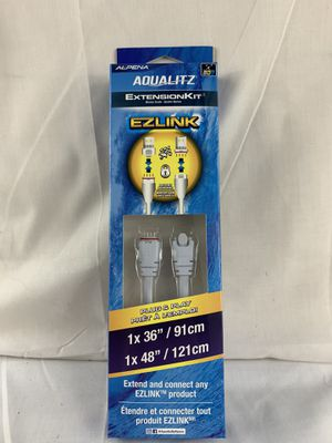 "NEW! ALPENA Aqualitz EZLINK Extension Kit 36"" & 48"" Model 77388 Extend for Sale in Peoria, IL"