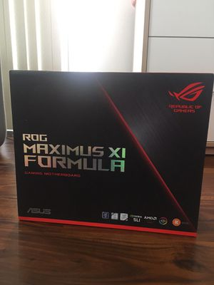 New Asus ROG Maximus XI Formula Motherboard for Sale in Los Angeles, CA