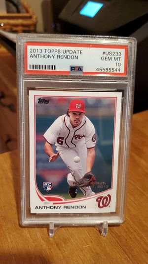 💎 Gem Mint Anthony Rendon Topps rookie for Sale in Alexandria, VA