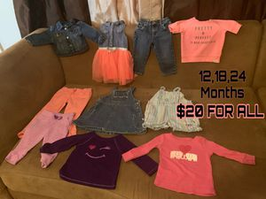 Baby girls clothing for Sale in San Angelo, TX