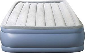 Inflatable queen mattress with electric pump for Sale in Washington, DC
