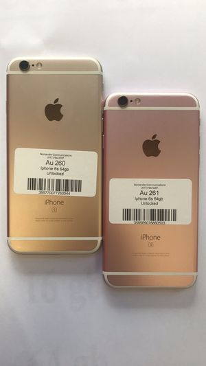 Factory Unlocked Iphone 6s 64GB. Excellent Condition. for Sale in Somerville, MA