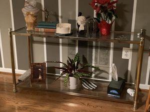 Brass console for Sale in Centreville, VA
