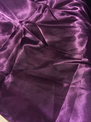 "Satin eggplant color 60x60"" tablecloths for Sale in Woodbridge, VA"
