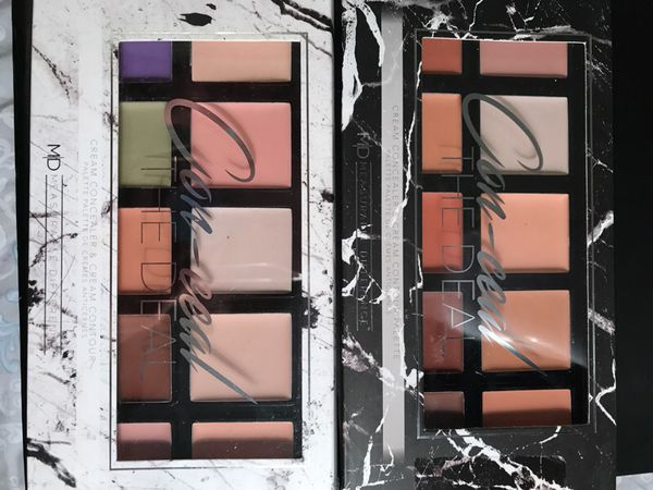 Cream concealer and cream contour palette's brand new