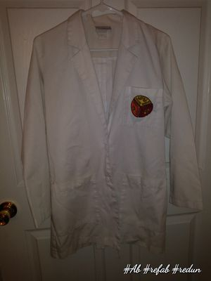 Vintage nursing lab coat with authentic brownie patches for Sale in Hadley, KY