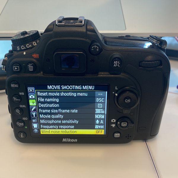 Nikon D7200 - DSLR - Body only