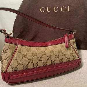 Gucci Monogram Canvas Pochette Shoulder bag for Sale in Concord, CA