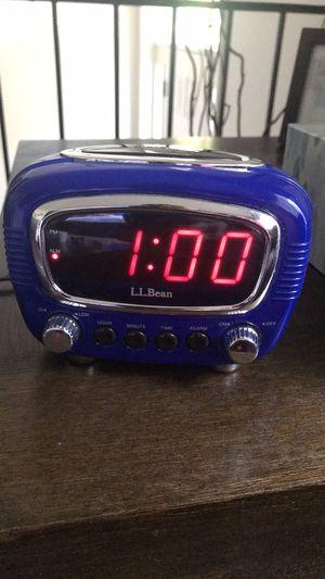 LL Bean Retro alarm clock for Sale in McLean, VA