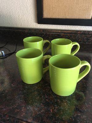 Green Mugs! for Sale in Modesto, CA