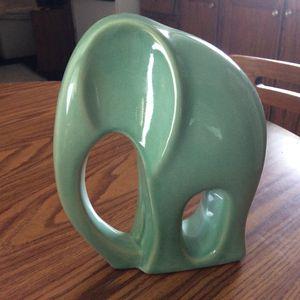 Mid century modern porcelain elephant for Sale in Dry Ridge, KY
