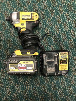 Impact Drill, Tools-Power Dewalt W/Charger & 6p FlexVolt Batt for Sale in Baltimore, MD