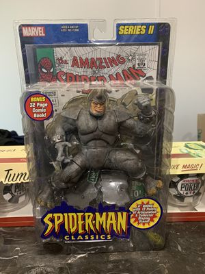 Spider-Man rhino action figure. for Sale in Austin, TX