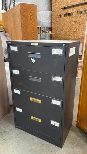 Free filing cabinet legal size for Sale in Downey, CA