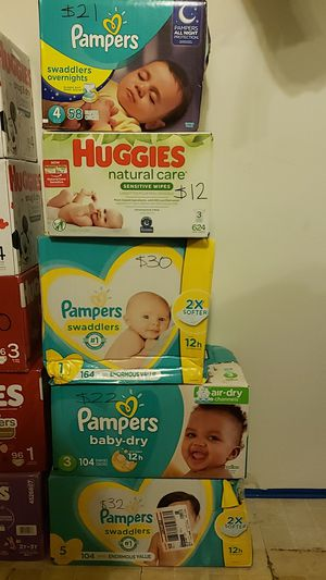 Pampers for Sale in Irving, TX